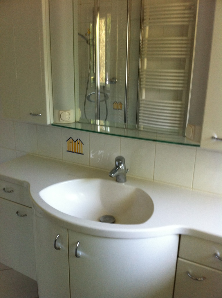 vasque de la salle de douche n°1