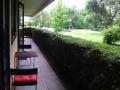 accès à la terrasse depuis chaque chambre