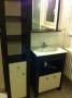 lavabo et étagère